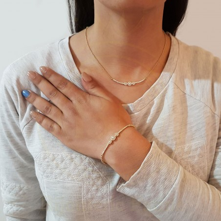 Ensemble tellement chic en or 18 carats