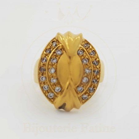 Bague tres chic en Or 18 carats