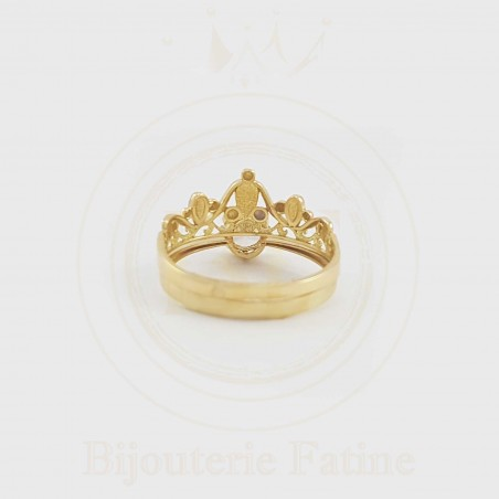 Alliance Solitaire 140 tellement chic et attirante en or 18 carats
